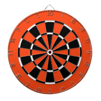 Dart Board in Philadelphia Hockey Colors