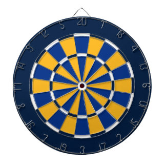 Dart Board in St Louis Hockey Colors