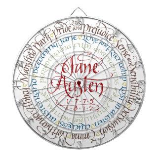 Dart Board - Jane Austen Period Dramas