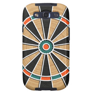 Dart Board Pattern. Stylish, Perfect Hobbies Gift Galaxy S3 Cover