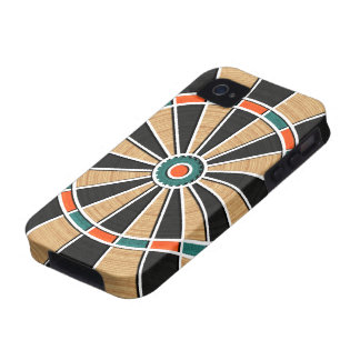 Dart Board Pattern. Stylish, Perfect Hobbies Gift Case-Mate iPhone 4 Covers