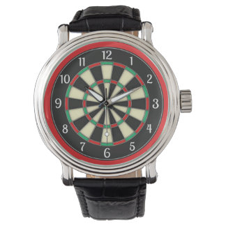 Dart Board Sporty Style Wrist Watches