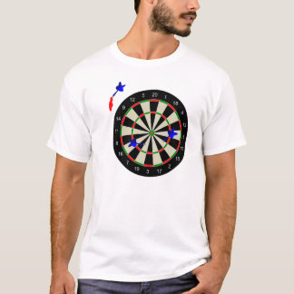 Dart board with darts T-Shirt