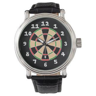 Dart Board Wristwatch