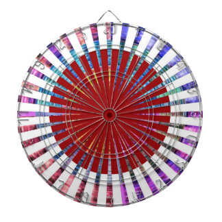 DART Chakra 109 Basket Weave Rainbow Beauty Dartboards