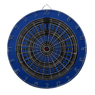DART Chakra - Black n Silver Wheels Rough Tough Dartboards