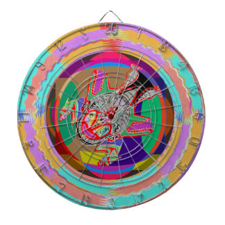 DART Chakra - TICK-A-BOO Alien Creature Dart Boards