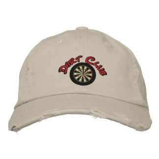 Dart Club Embroidered Hat