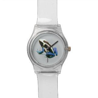 Dart frog watch, Dendrobate frog watch, cool Wristwatch