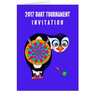 Dart Penguin by The Happy Juul Company Card