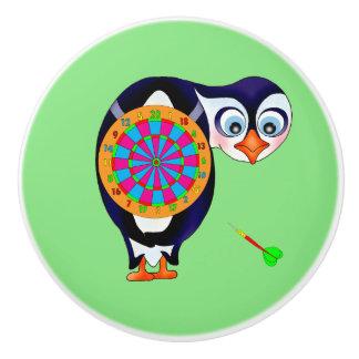 Dart Penguin by The Happy Juul Company Ceramic Knob