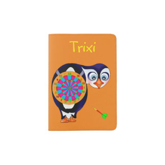 Dart Penguin by The Happy Juul Company Passport Holder