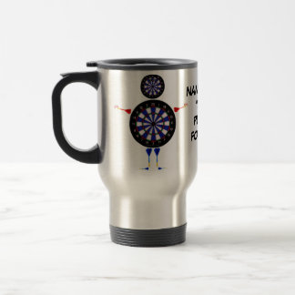 Dart Player For Life Travel Mug
