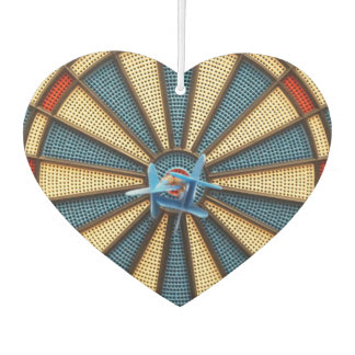 Dartboard Bullseye Car Air Freshener