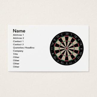 Dartboard Business Card