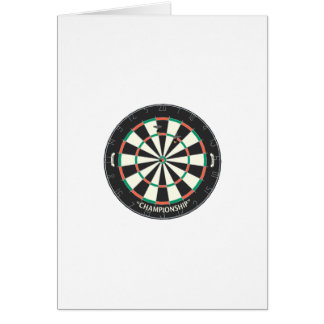 Dartboard & Darts: 3D Model: Card