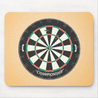 Dartboard & Darts: 3D Model: Mousepad