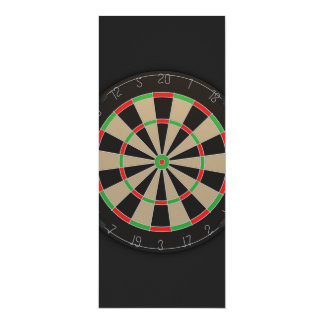 Dartboard Darts Lover Card