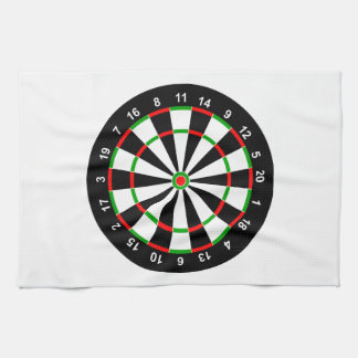 Dartboard Kitchen Towel