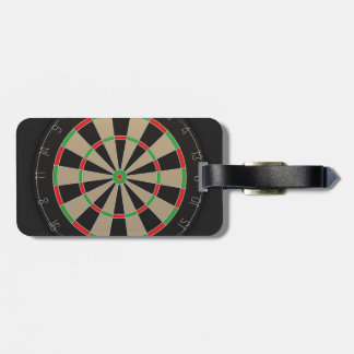 Dartboard Lover Luggage Tag