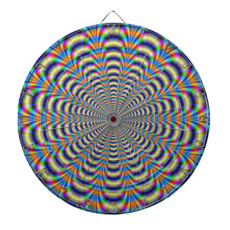 Dartboard  Psychedelic Ringed Pulse