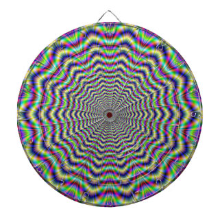 Dartboard  Psychedelic Web Star