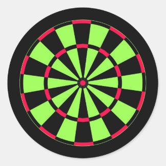 Dartboard Round Sticker