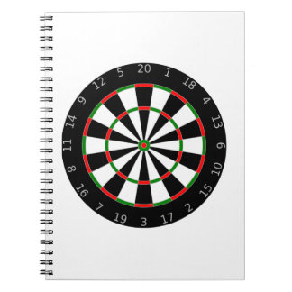 Dartboard Spiral Notebook