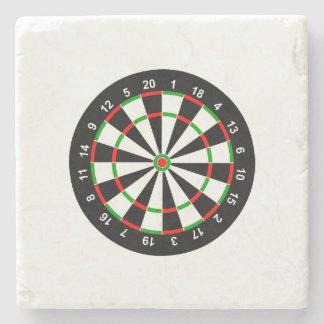 Dartboard Stone Coaster