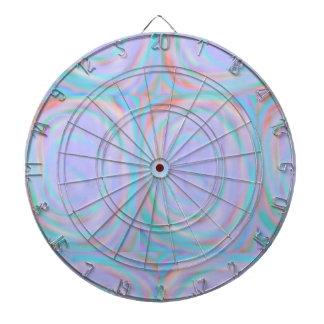 Dartboard with a Rainbow Swirl pattern