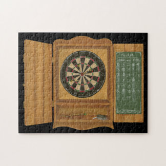 Dartboard with Cricket Scoring Jigsaw Puzzle