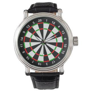 Dartboard Wristwatch