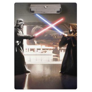 Darth Vader and Obi-Wan Still Clipboard