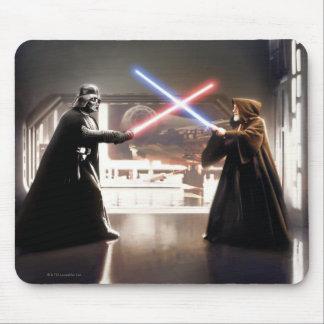 Darth Vader and Obi-Wan Still Mouse Pad