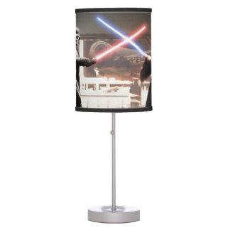 Darth Vader and Obi-Wan Still Table Lamp