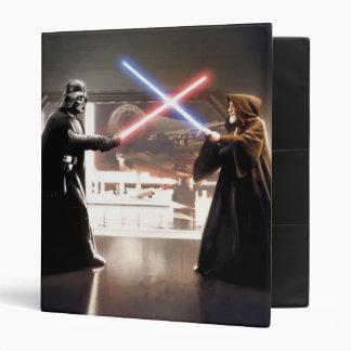 Darth Vader and Obi-Wan Still Vinyl Binder