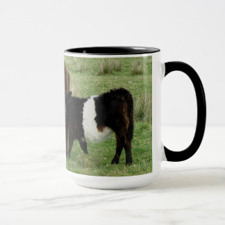 Dartmoor Belted Galloway Cow And Calf Mug