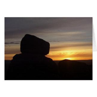 Dartmoor Sunrise Card
