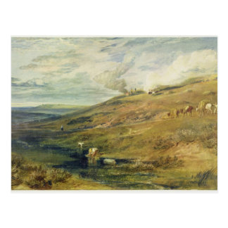 Dartmoor: The Source of the Tamar and the Torridge Postcard