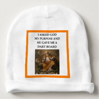 darts baby beanie