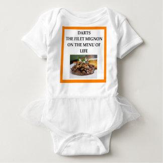 darts baby bodysuit