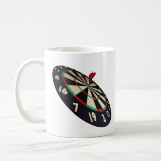 Darts Destination Bullseye, Coffee Mug
