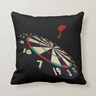 Darts Destination Bullseye, Throw Cuchion Throw Pillow