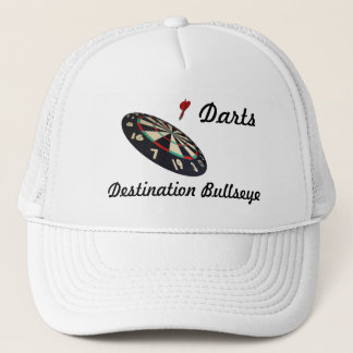 Darts Destination Bullseye, Trucker Hat