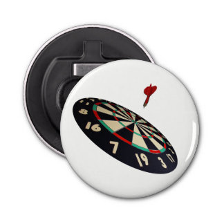 Darts Destination, White Magnetic Bottle Opener