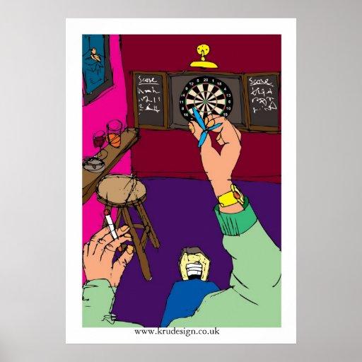 Darts Game Poster