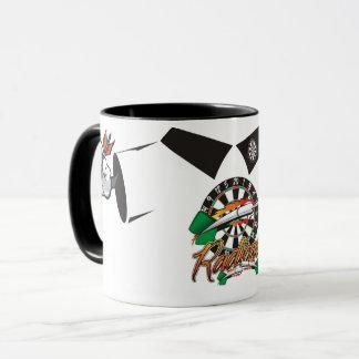Darts Man Coffee Mug: Radical Darts Mug
