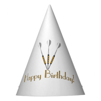 Darts Personalized / Monogram Party Hat