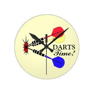 Darts! Round Clock