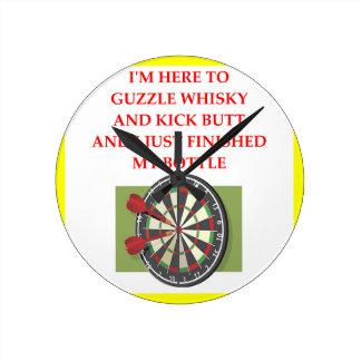 darts round clock